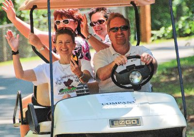 Island Scramble Golf Cart Challenge